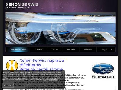 xenon-serwis.com - Naprawa reflektorów xenonowych