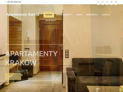 Galicja Apartament - Wynajem apartamentów Kraków Kazimierz