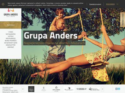 Grupa Anders - Hotel Mazury