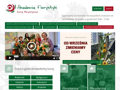 Akademiaflorystyki.pl - Florystyka kursy