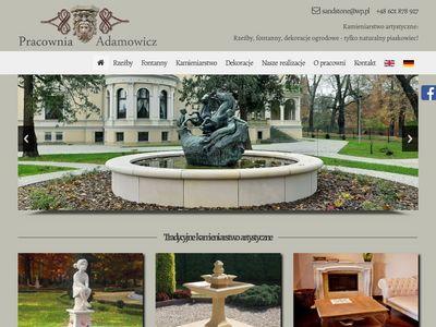 Pracownia rzeźby ogrodowej - Producent fontann