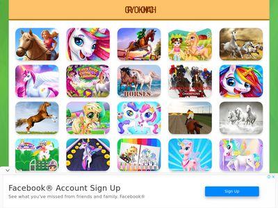 gryokoniach.net.pl - Gry o koniach i kucykach dla dzieci