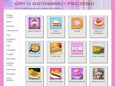 grygotowanie.com.pl - Gry w gotowanie dla dziewczynek