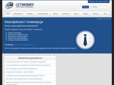 Get-Money.pl - Tanie pożyczki pozabankowe