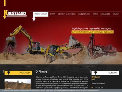 Kruszland - Odwierty geologiczne