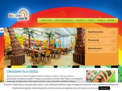 Kinderpark.pl - Urodziny dla dzieci Poznań
