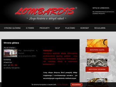Lombardis - Pożyczki pod zastaw złota Poznań
