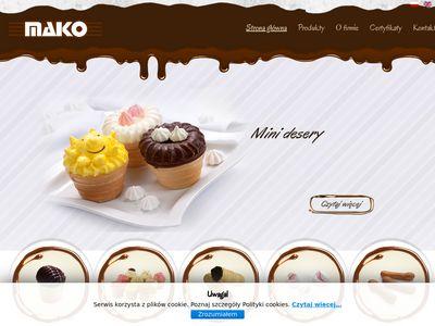 MAKO - Wyroby cukiernicze