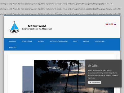 Mazur Wind - Czarter Mazury