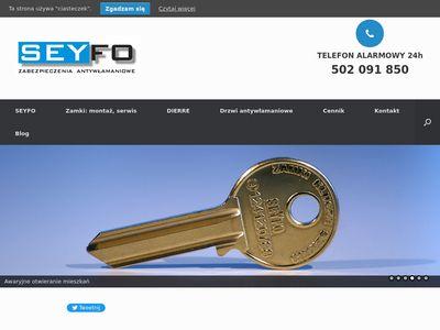 Seyfo - Awaryjne otwieranie drzwi Kraków