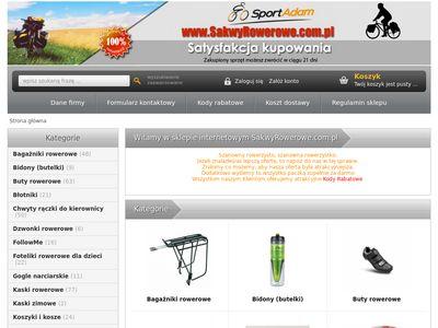 Sport Adam - Sakwy rowerowe Crosso