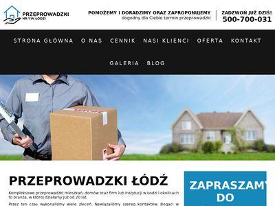 Przeprowadzki.lodz.pl - Przeprowadzki w Łodzi