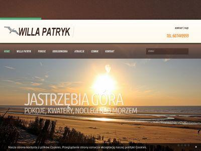 Willa Patryk - wczasy w Jastrzębiej Górze