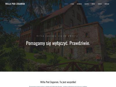 Willa Pod Zegarem - Noclegi Góry Izerskie