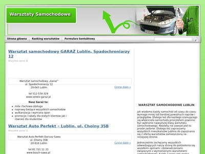 mechanika samochodowa lublin