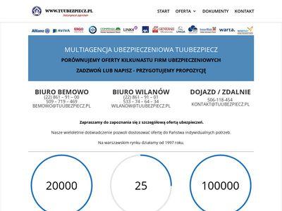 Ubezpieczenia Warszawa Agencja