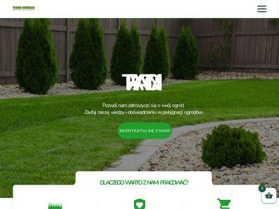 Trawa Tomasza - trawnik z rolki
