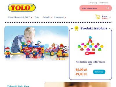 Zabawki Tolo - Zabawki edukacyjne