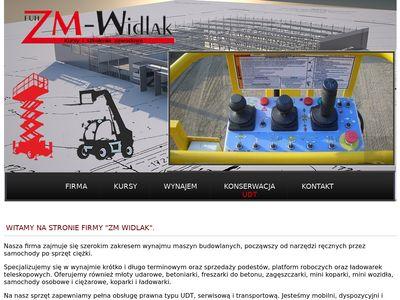 Zm-Widlak.pl - Wynajem podestów ruchomych Siedlce
