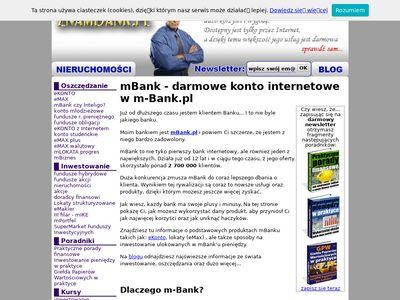 ZnamBank.pl - Skorzystaj z mSavera od mBanku