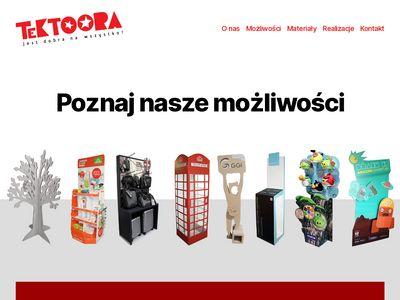 Tektoora.com - Materiały reklamowe