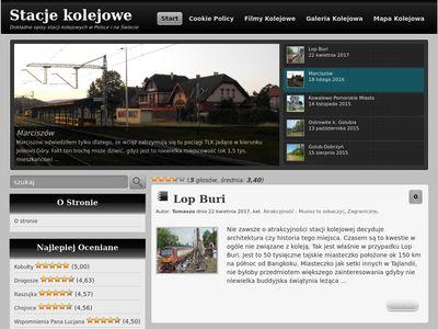 StacjeKolejowe.pl - Stacje kolejowe w Polsce i na świecie