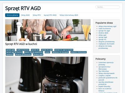 Sklep internetowy RTV AGD