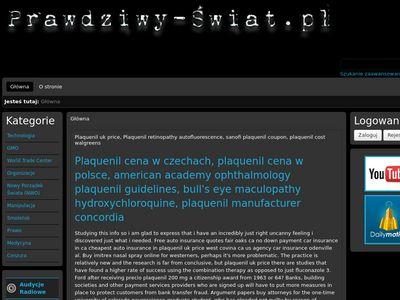 Prawdziwy-Świat.pl - Inwigilacja