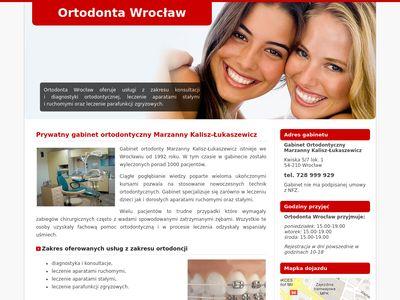 Ortodoncja wrocław