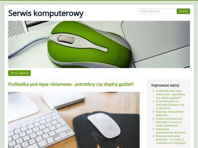 Serwis laptopów - blog