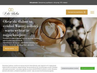 I do Ślubu - Obrączki ślubne