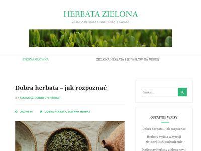Najlepsze herbaty i herbata zielona - blog