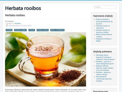 Rooibos - blog