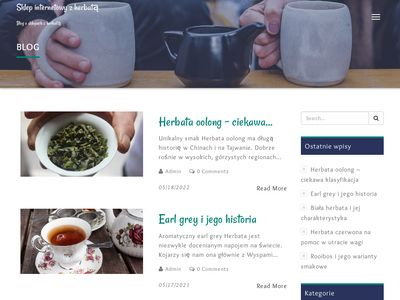 Herbata sklep - blog