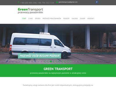 GreenTransport - Przewóz osób z kierowcą