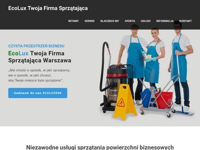 EcoLux - Pranie dywanów i wykładzin na sucho w Warszawie