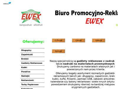 EWEX - Wykonywanie nadruków na gadżetach reklamowych