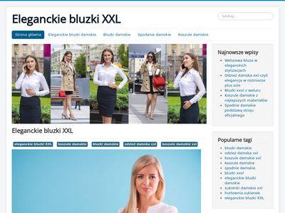 Bluzki xxxl