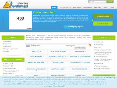e-Reklamuj.pl - Katalog stron www