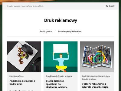 Projekty graficzne i infografika
