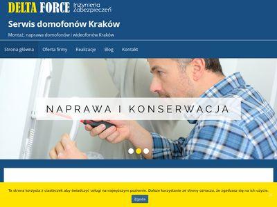Montaż domofonu Kraków
