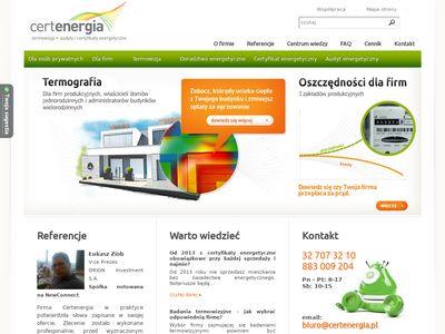 CertEnergia - Audyty i certyfikaty energetyczne