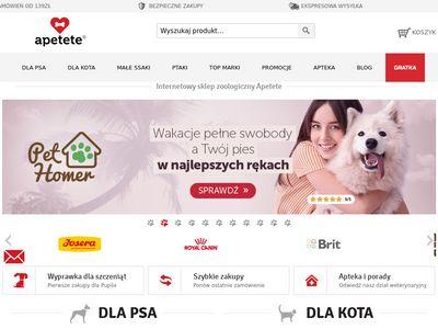 Apetete.pl - Karma dla psa