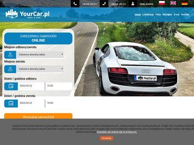 Yourcar.pl - Wypożyczalnia Samochodów Katowice
