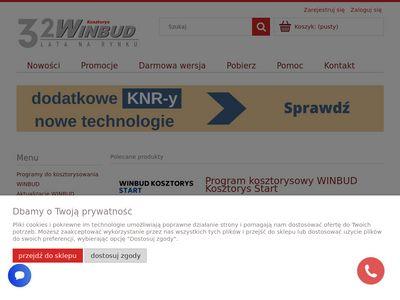 WinbudKosztorys.pl - Program kosztorysowy cena