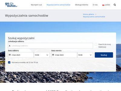 wynajemsamochodu24.pl - Wypożyczalnia samochodów Gdańsk tanio