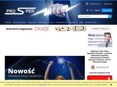 PROSPER - Sklep elektroenergetyczny