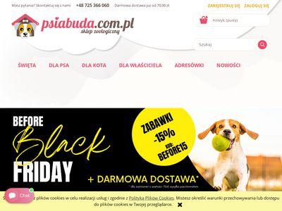 Psiabuda.com.pl - Akcesoria dla psów i kotów