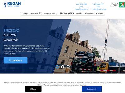REGAN.eu - dźwigi