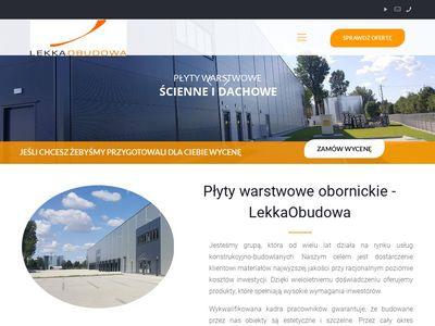 Lekka Obudowa - Płyty warstwowe na dach
